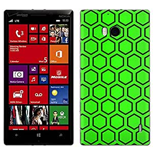 Skin Decal for Nokia Lumia 929 - Beehive Green