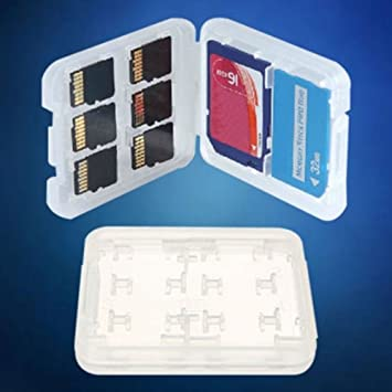 Caja de Almacenamiento para Tarjetas de Memoria SD Micro SD ...
