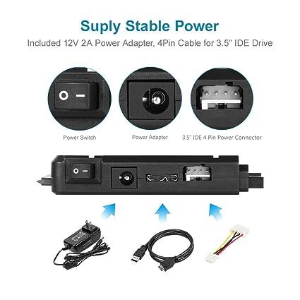 Amazon.com: Unitek USB3.0 to SATAIII Converter Adapter ...