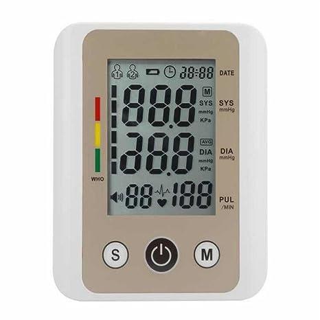 LQUIDE Tensiometro De Brazo Digital,Médicamente Certificado, Completamente Automático, Utilizado Por Profesionales Y Usuarios Domésticos: Amazon.es: Hogar