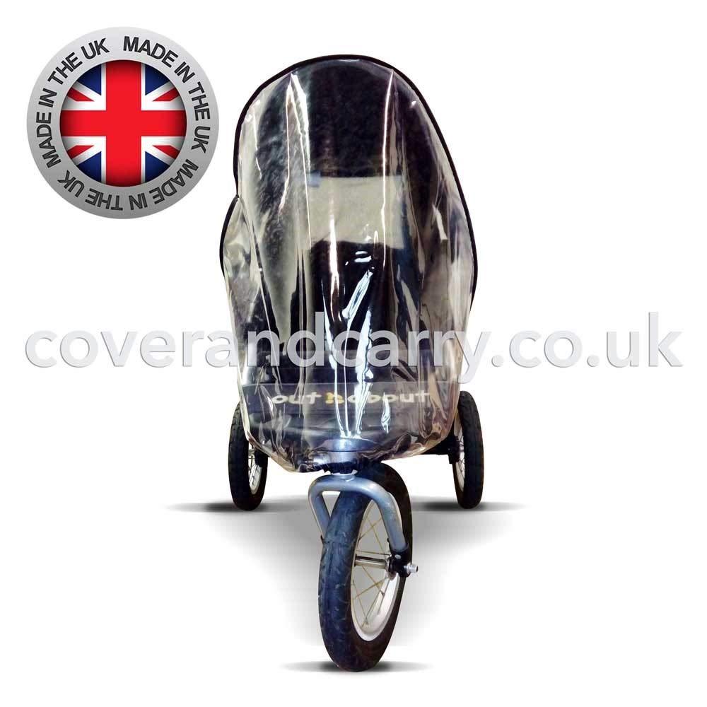 ! se adapta a todas las versiones hechas en el Reino Unido de PVC transparente supersuave Protector de lluvia para OutnAbout Nipper 360 individual poco m/ás dinero y mucho m/ás calidad