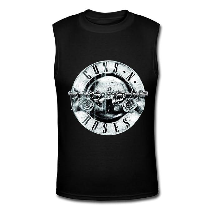 Camiseta de manga larga para hombre Guns N Roses no en esta vida Tour camiseta