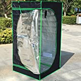 Cheap 2016 Newest Eco-friendly 32″ X 32″ X 63″ Grow Tent Upgraded En71-3 Approved Reflective Mylar Hydroponic Dark Room Box