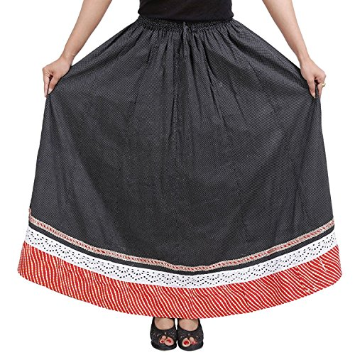 Cotton Stylish Black Black Cotton Solid Solid Skirt Stylish nrH1qXrg