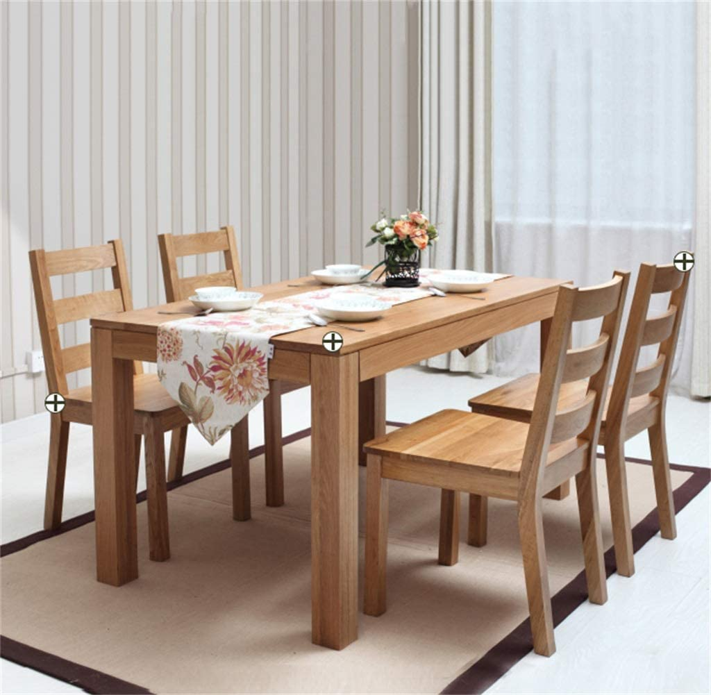 Sillas para la cocina Cafe Bistro Comedor Restaurante Sillas Sillas de madera para oficina Sillas de cocina (46 × 54 × 91 cm) #2