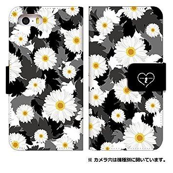 e7367d88f4 スマホケース 手帳型 android one s3 ケース かわいい おしゃれ 花柄 フラワー デザイン 柄 0144-