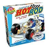 Small World Toys Creative - Construct-A-Hot Rod Metal Construction Set