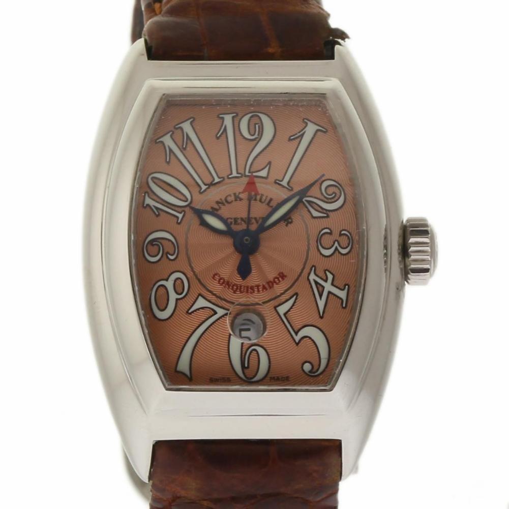 Franck Muller Conquistador swiss-quartz womens Watch 8005 LSC (Certified Pre-owned)