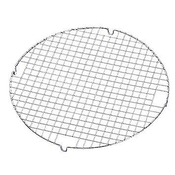 wilton griglia raffreddatorte tonda 33cm griglia raffreddatorte tonda 33cm acciaio argento
