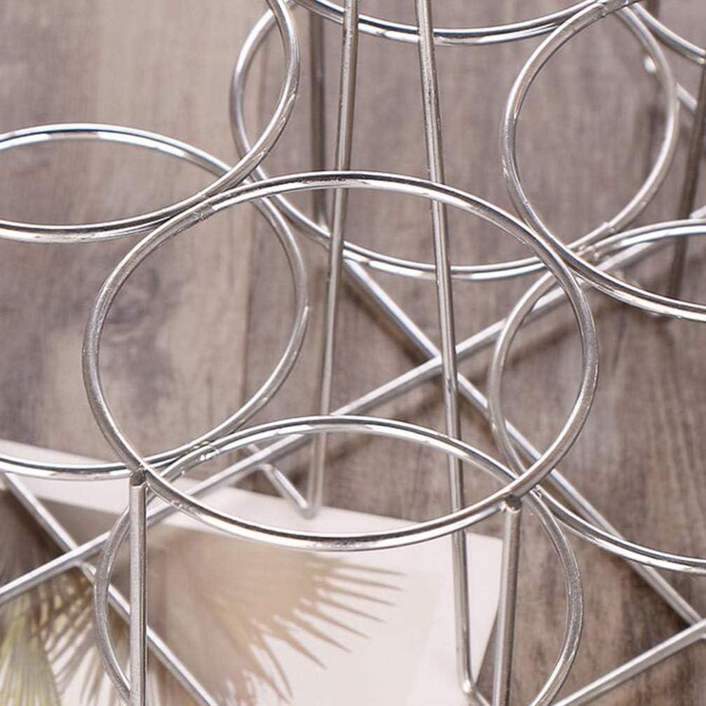 UPKOCH Porta lattina portabottiglie portabottiglie portabottiglie portabottiglie portabottiglie con Manico 6 Fessure