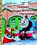Thomas' Night Before Christmas (Little Golden Books)
