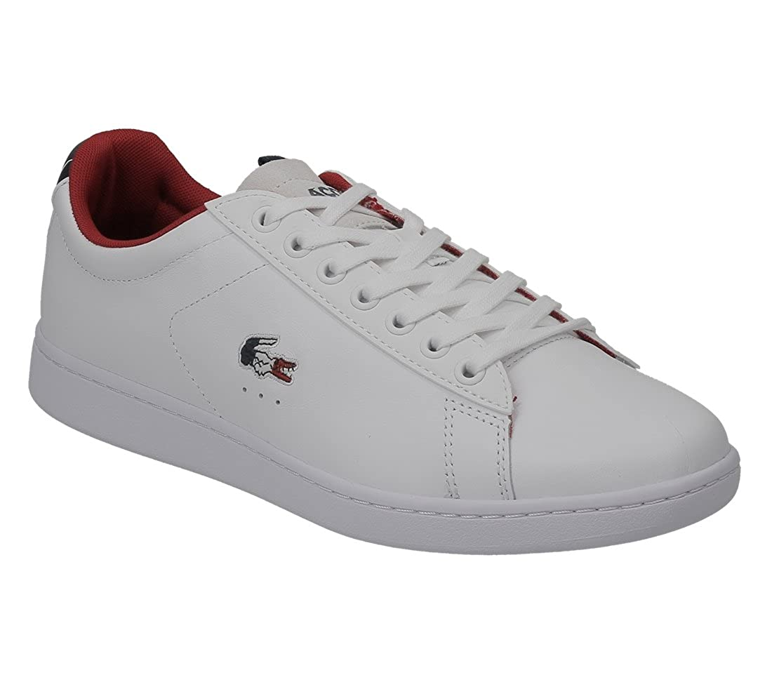 446b01a6e3 Lacoste Carnaby Evo 317 3 Spm White Navy 734spm0003042 pointure 40 1/2:  Amazon.fr: Chaussures et Sacs