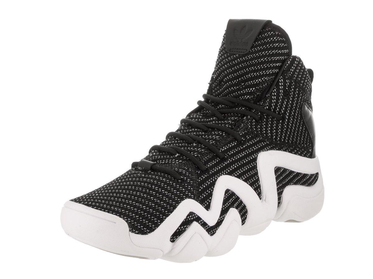 Adidas Mens Crazy 8 Sneakers Black/Solar Red/Solar Blue Q16935 B07578Q11W 8 D(M) US|Core Black / Silver Metallic-footwear White