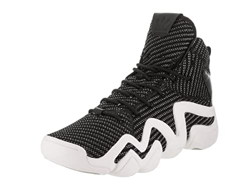 quality design eb2e5 0f676 adidas Mens Crazy 8 ADV PK Originals Black Silver White Basketball Shoe 5  Men