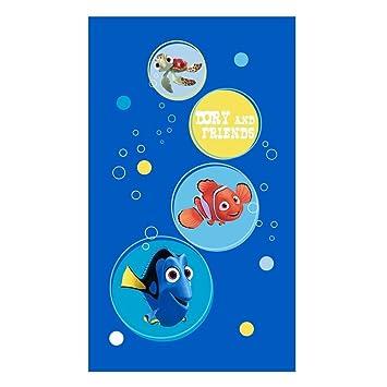 Disney Finding Dory Nemo - Niños toalla de baño playa Dory and Friends 70x120 cm: Amazon.es: Juguetes y juegos