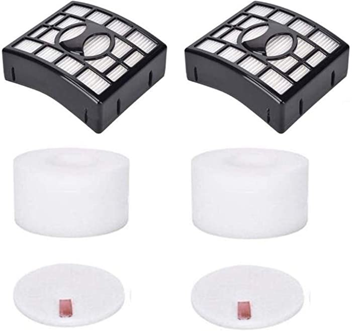 HIMrHEPA 2 Pack Vacuum Filters Compatible with Shark APEX AX910 AX912 QU922Q DuoClean Powered Lift-Away Speed Vacuums. Compare to Part # XPRHF910 & XFF680