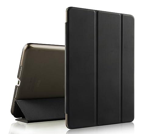iPad Mini Funda, iPad mini 2 Carcasa, EssVita Tres Dobleces Elegante Del Soporte Estela Del Sueño Tirón Magnético Cuero de la PU Tapa Dura para Apple ...
