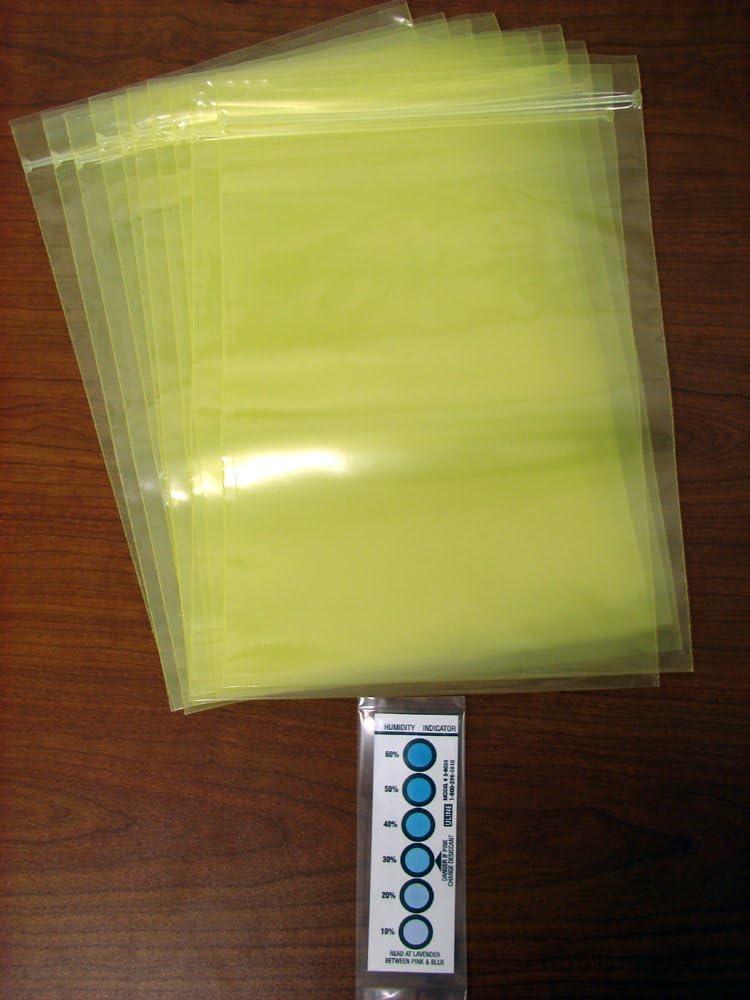 "Zip Closure Zerust Multipurpose VCI Poly Bag Pack of 12 12/"" x 42/"""