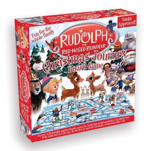 Aquarius Rudolph The Red Nosed Reindeer Christmas Journey Board -