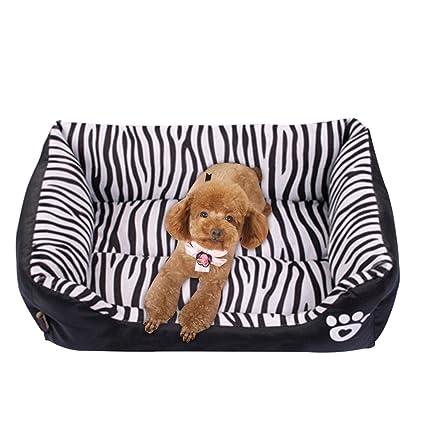 Freahap Cama y Sofá para Mascotas Almohada Nido de Animales de Estilo Británico para Perro Gato