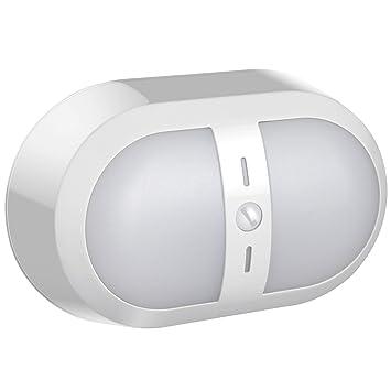 Fosmon Luz del Sensor de Movimiento, Pilas [10 LED | 250 lúmenes] Stick