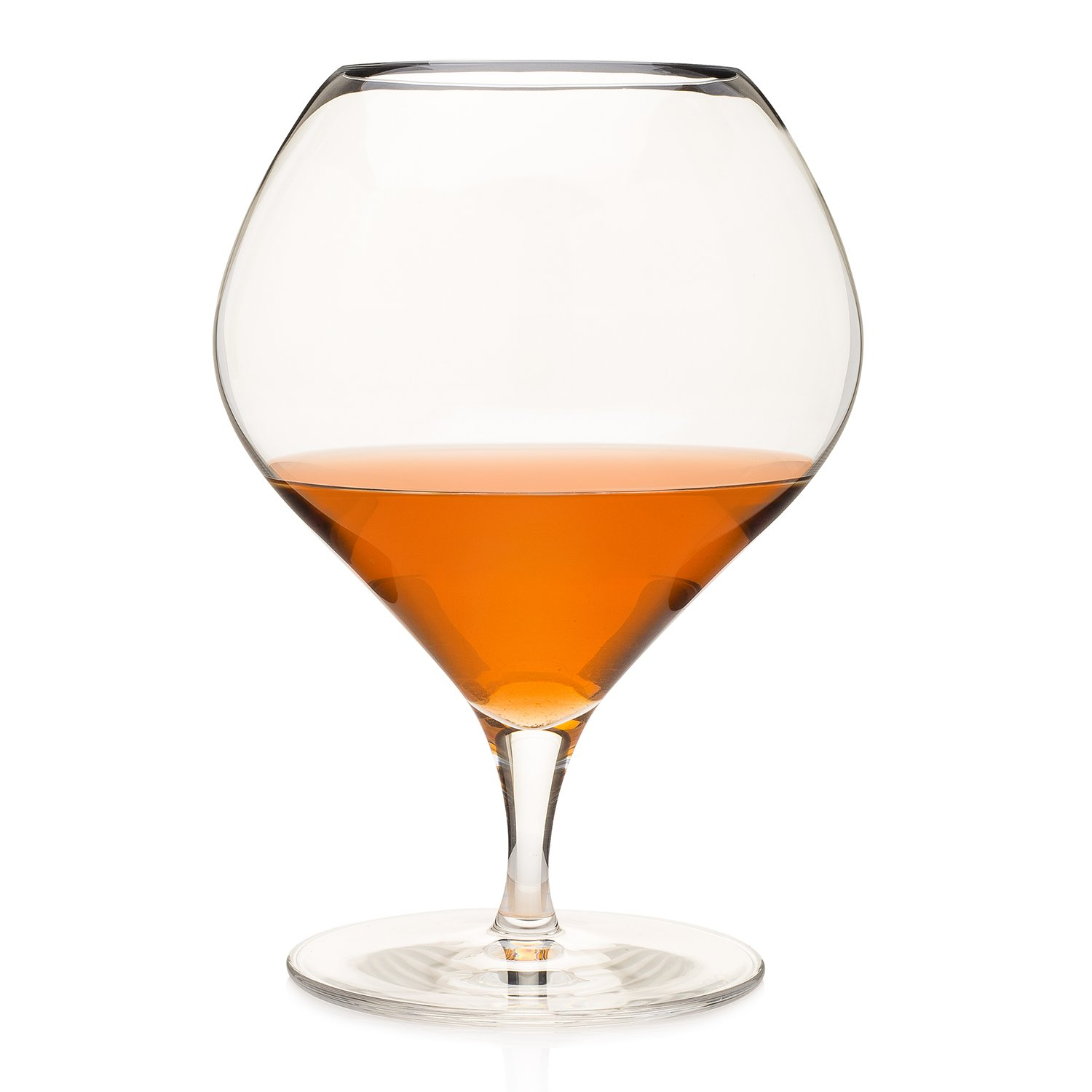 """""""French Moderne"""" Distiller's Balloon-Shaped Cognac Snifter (Gift Box) HISTORY COMPANY"""