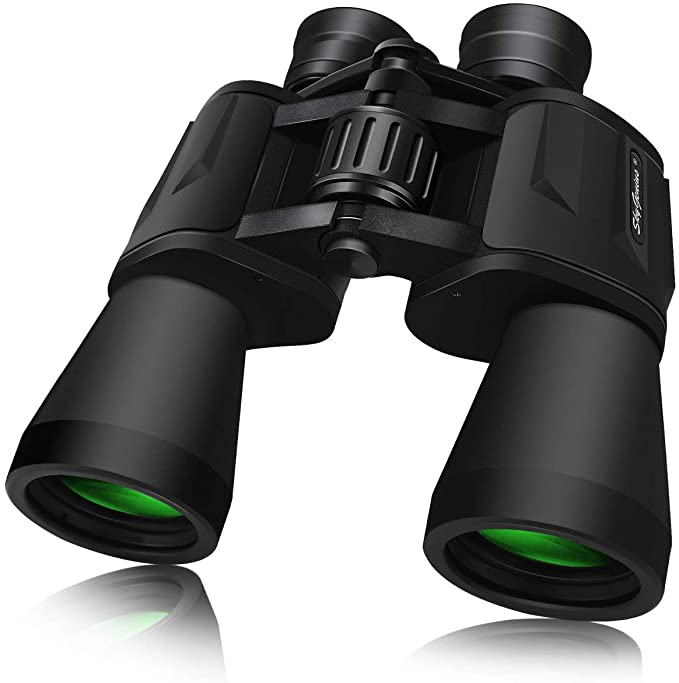 Best Hunting Binoculars :  SkyGenius 10 x 50 Powerful Full-Size Binoculars for Adults