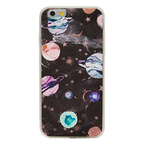 Amazon.com: TNCY - Carcasa para iPhone 6S, diseño espacial ...