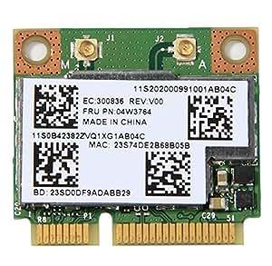 gotor® mtxtec 04W3764 sistema manos libres para de vídeo-Samsung choromebook de PCI-E con diseño de compartimentos para tarjetas de 300 m de ion de litio para Lenovo E130 E135