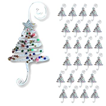 BANBERRY DESIGNS Christmas Ornament Hooks - Set of 24 Whimsical Christmas  Tree Ornament Hangers - Adorned - Amazon.com: BANBERRY DESIGNS Christmas Ornament Hooks - Set Of 24