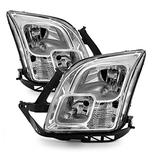 (ACANII - For 2006-2009 Ford Fusion Headlights Headlamps Replacement 06 07 08 09 Driver + Passenger)