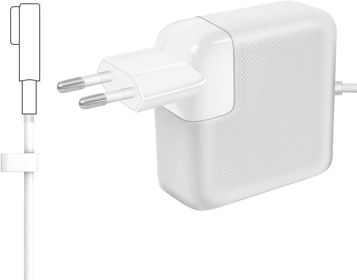 AndMore Cargador Compatible con MacBook Pro, Cargador MacBook 60W 1 Forma de L Adaptador de Corriente (para MacBooks Macbook Pro 11