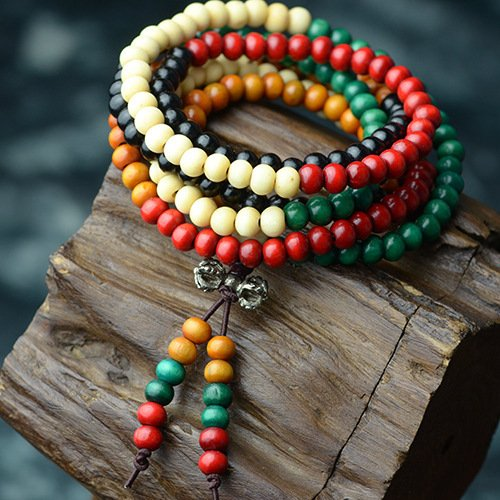 Gambulin Exquisite Colorful Fragrance Beads Bracelet,Fragrance Beads Bracelet for Women,Girls ()