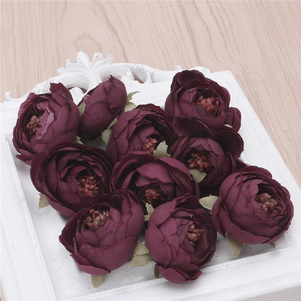 Chic Wedding Bridal Bouquet Party Decor Artificial Camellia Flowers DIY Craft