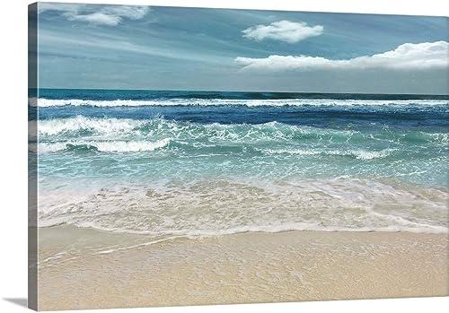 GREATBIGCANVAS Symphony of The Sea Canvas Wall Art Print