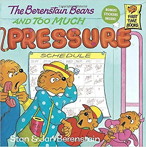 Book The Berenstain Bears and Too Much Pressure by Stan Berenstain (1992-11-03)