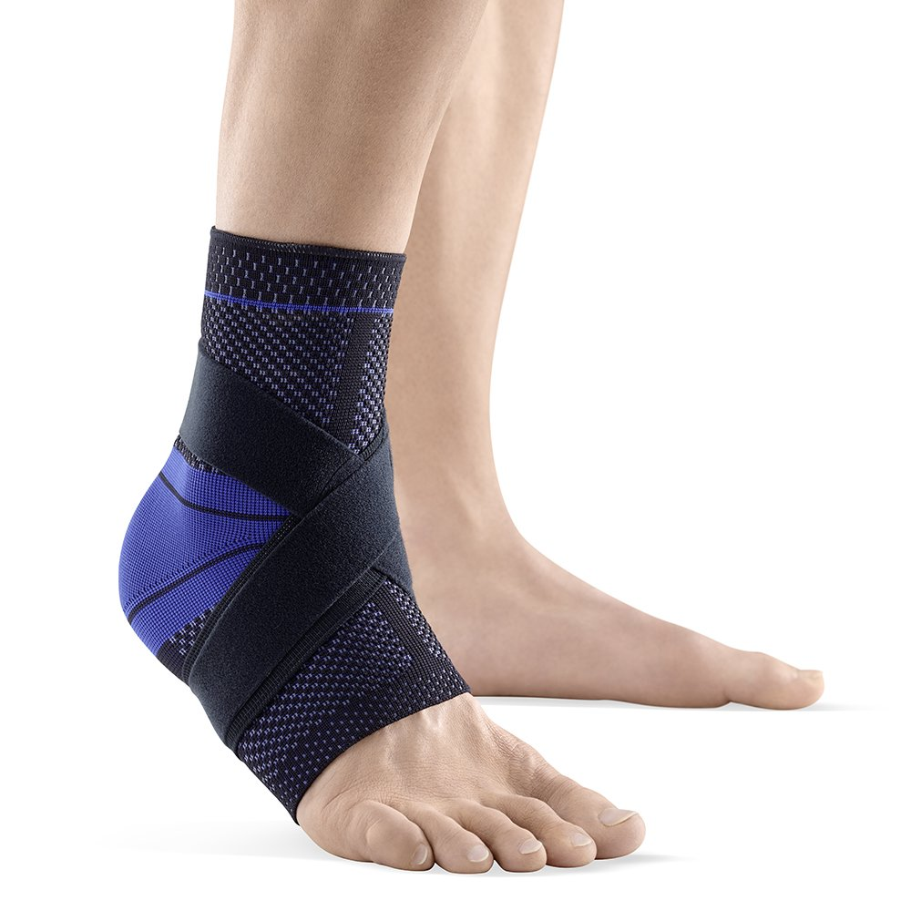 Bauerfeind MalleoTrain Left S Ankle Support (Black, 4) by Bauerfeind