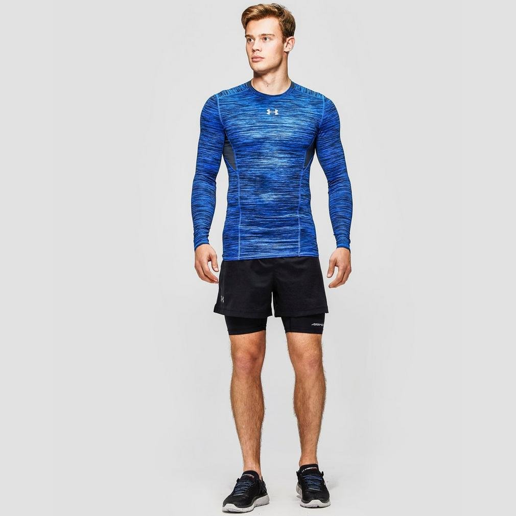 Under Armour Mens Launch 5 2-in-1 Shorts