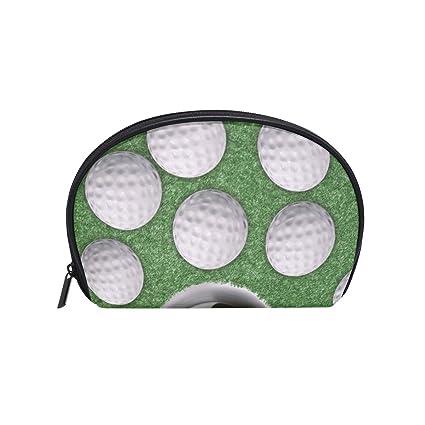 Bolso cosmético del maquillaje del deporte pelota de golf con ...