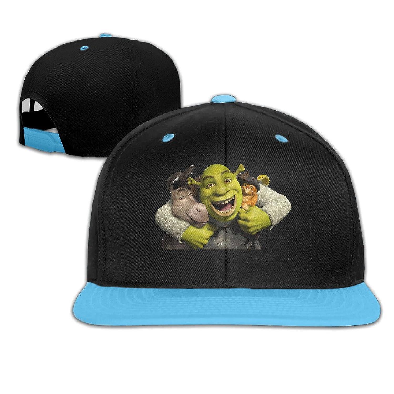 Shrek Customed Unisex Kid Hiphop Cap Organic Cotton Latest Lovely