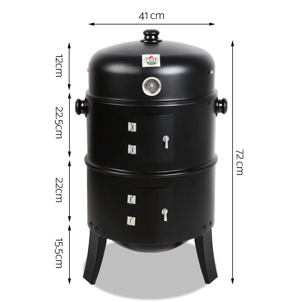 Grillz 3-in-1 BBQ smoker