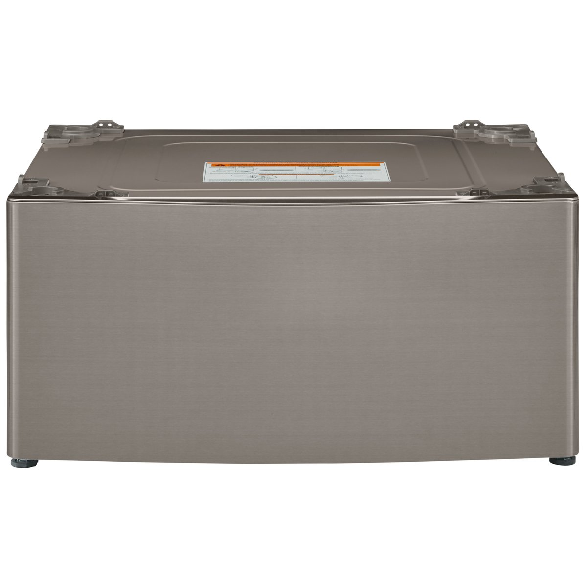 Kenmore Elite 51043 29'' Wide Laundry Pedestal with Storage Drawer in Metallic silver, includes delivery and hookup (Available in select cities only)