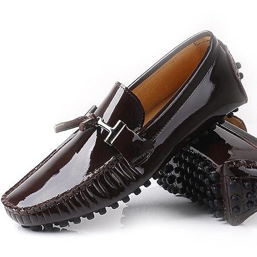 Fulinken Charol Hombres Borla Slip On Hombre Zapatos de Casual Zapatos de conducción Zapatos de Vestido Negro/marrón/Rojo/Burgundy: Amazon.es: Zapatos y ...