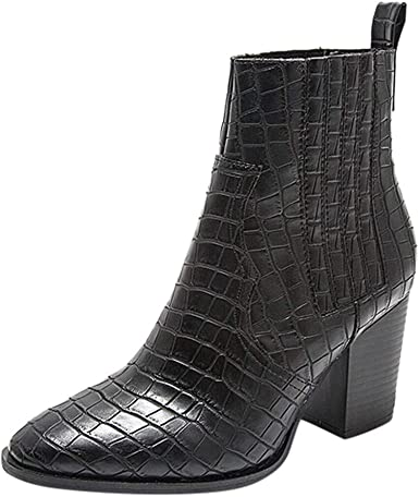 crocodile ankle boots