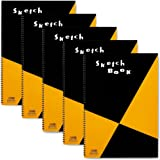 マルマン スケッチブック 図案シリーズ A3 画用紙 5冊 S115x5 SET