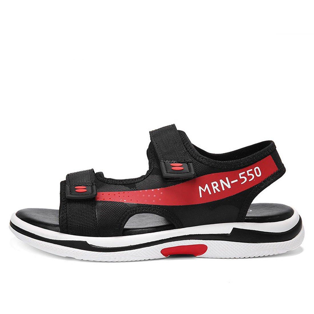GCH Los Hombres Zapatillas de Deportes y Ocio Sandalias de Verano,43,Rojo US9.5 / EU42 / UK8.5 / CN43|red
