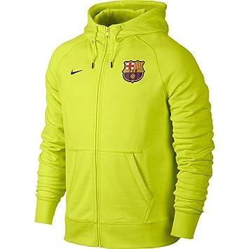 eae8516d7907f Nike Jacke AW77 FC Barcelona Authentic Fleece Hoody - Chaqueta para Hombre