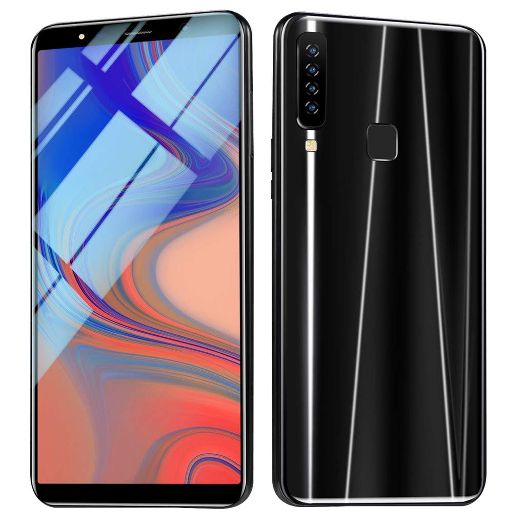 Android16GB Dual SIM Mobile Phone,Eight Cores 6.1 inch Dual HD Camera Smartphone,1G+16G+64G (Black) by SUNSEE ELECTRONICS (Image #9)