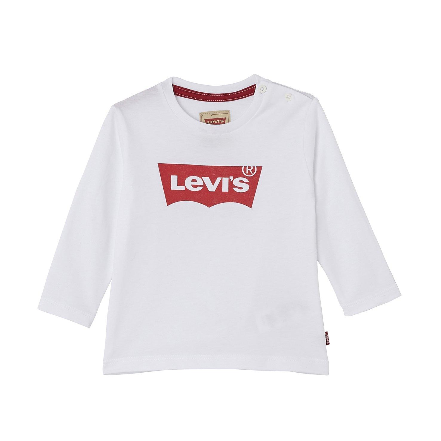 071b6ac36f Levi s kids Camiseta de Manga Larga Unisex bebé Levi s Kids NL10204