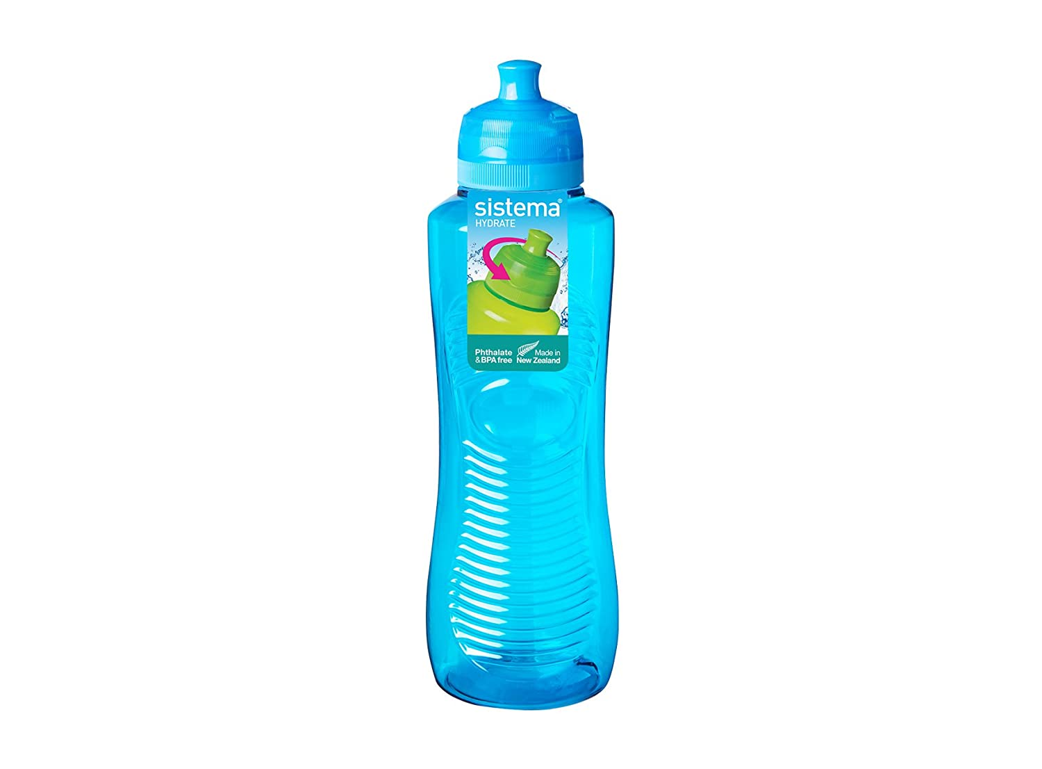 Sistema Square Water Bottle, 1 L - Assorted Colours: Amazon.co.uk ...